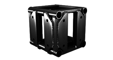 Truss-Corner-Block-Black