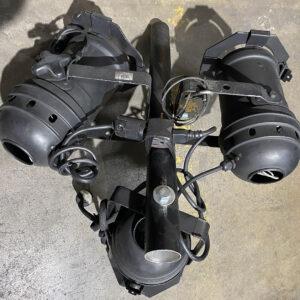 Used Black Buffet Head Set