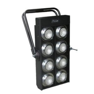 ProCan 8-light audience blinder